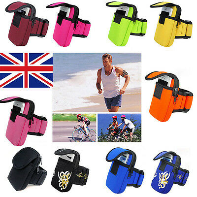 New Arm Band Wrist Pouch Outdoor Sports Running Mobile Cell Phone Bag Wallet