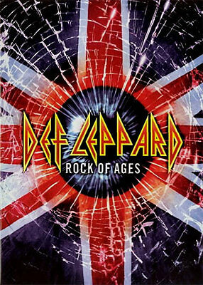 Def Leppard ORIGINAL 2005 Rock of Ages Tour Book Concert Program metal w/photos