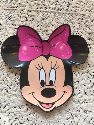 Minnie Mouse Plate Pink Bow Disney