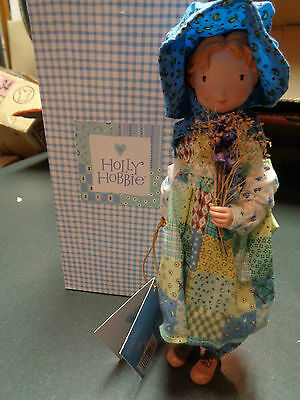 American Greetings Holly Hobbie 2004 Little Girl Blue Collectible Doll New w Box