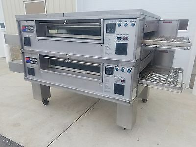 Middleby Marshall PS570S Double Deck Conveyor Pizza Oven **EXCELLENT CONDITION**