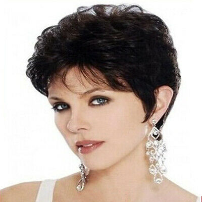5e74d92fa0482d Beauty nice wigs Natural hair wigs synthetic short wavy black wig for women