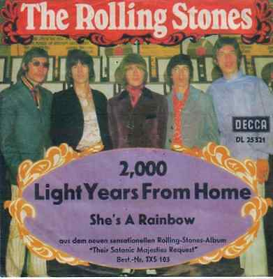 The Rolling Stones   2,000 Light Years From Home   She´s A Rainbow