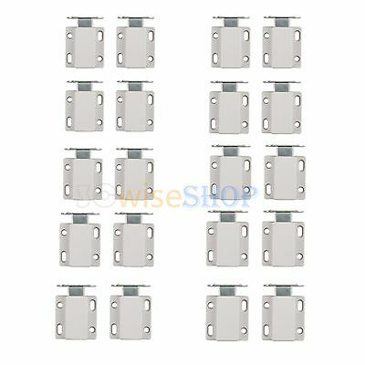 10X Push To Open Magnetic Pressure Touch Release Catches Cabinet Doors Latch UK