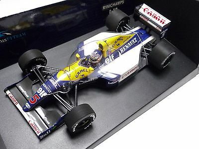 """Minichamps 1:18 1:18 Williams Renault Fw14 N. Mansell 1991 """"camel"""""""