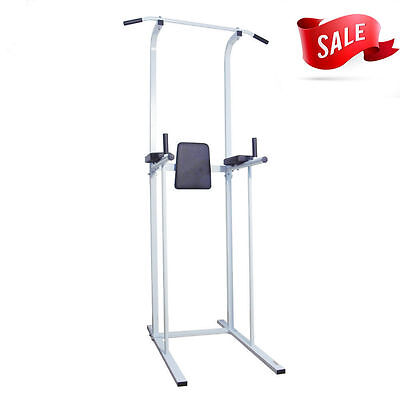 Fitness Power Tower Dip AB Pull Chin Up Bar Station Home Gym Fitness Exercise