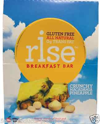 New Rise Bar Protein+ Gluten Free Natural Daily Body Dietary Supplement Healthy