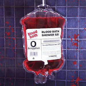 Blood Bath Shower Gel - Novelty - Halloween Horror
