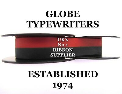 1 x 'ADLER UNIVERSAL 390' *RED/BLACK* TOP QUALITY *10 METRE* TYPEWRITER RIBBON