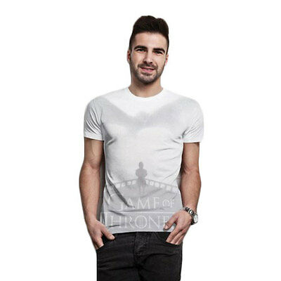 Game of Thrones Herren Logo T-Shirt - Tyrion Sublimation (Weiss) (S-XL)