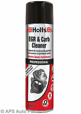 Holts EGR & Carb Cleaner Petrol Diesel Engines Quickly Removes Dirt Grease 500ml