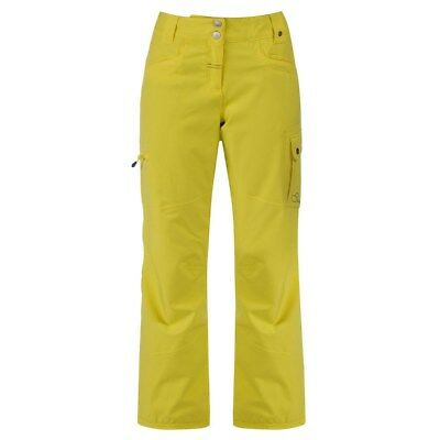 Womens Dare2b Wise Up Waterproof Breathable Salopettes Ski Pants Yellow