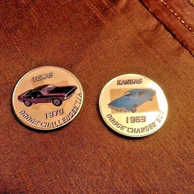 TWO (2) Route 66 Collector Coins