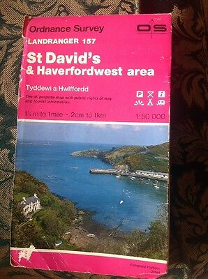 St David's & Haverfordwest Area Map