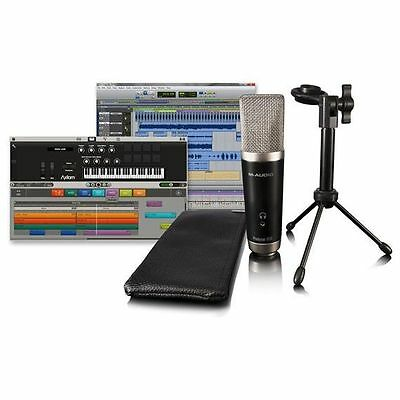 M-Audio Vocal Studio USB Studio Condenser Microphone + Stand, Case & Software