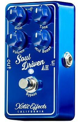 Xotic Effects Soul Driven AH Allen Hindes Limited Guitar Effect Pedal Brand new