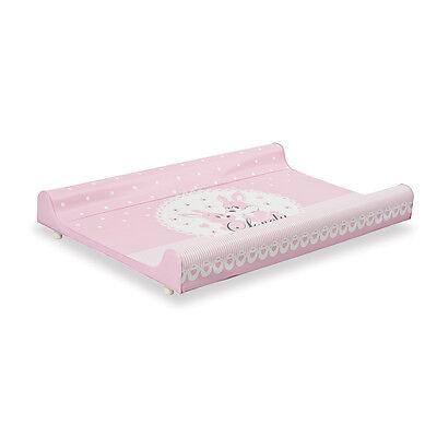 Padded changing table with rigid back Bebe Uno 173 lovely rosa Primi Sogni
