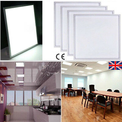 1/5 36W 48W Cool White LED Panel Suspended Ceiling Light Panel 6500K 600 x 600mm