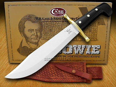 CASE XX Black Synthetic Fixed Blade Bowie Knives Knife
