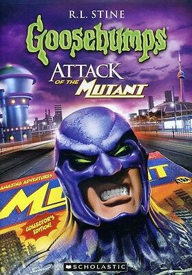 [Dvd Ntsc/1 New] Goosebumps: Attack Of The Mutant, Parts 1 And 2