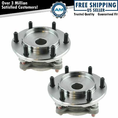 Front Wheel Hub Bearing Assembly Driver Passenger Pair for Tacoma 4Runner FJ