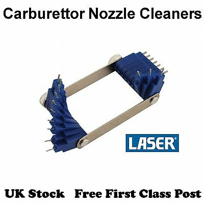 Laser Carburettor Jet/Nozzle Cleaning Set 5508 - 20 piece 0.45 to 1.5mm - [D51]
