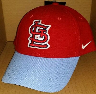 huge discount 66b40 e001a NWT NIKE St Louis CARDINALS Legacy 91 adjustable baseball cap hat mlb