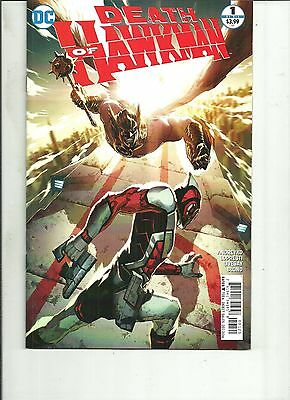 DEATH OF HAWKMAN #1 DC Comics 2016 1st Print NM