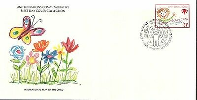 (50710) FDC United Nations UN Year of the Child 1978