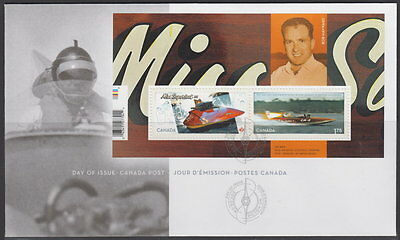 Canada #2486 Miss Supertest Hydroplane Souvenir Sheet First Day Cover