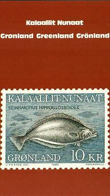 (16398) Greenland Post Office - Greenland Halibut postcard 1983