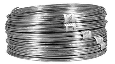 Midwest Air 100', 14 Gauge, Solid Galvanized Fence Wire 122065
