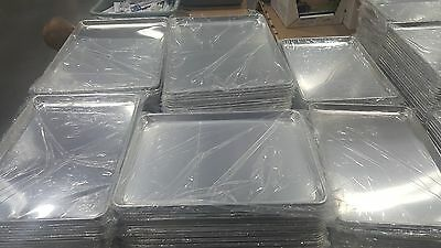 "4 Commercial Grade Aluminum Baking Cookie Bread Sheet Pan 15"" X 21"" XL 2/3 Size"