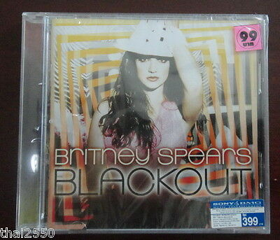 Britney Spears : Blackout THAILAND CD Mint & Sealed Rare!