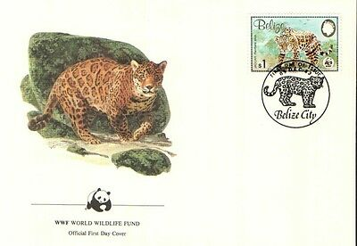 (70287) FDC - Belize - Jaguar 1983