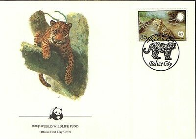 (70288) FDC - Belize - Jaguar- 1983
