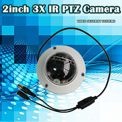 2.0 Mega Pixel 1080p 2 inch 3X HD MINI Speed Dome Camera Network IP PTZ Dome