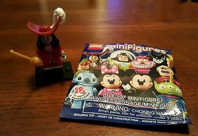 Disney Lego Mini Figures - Captain Hook