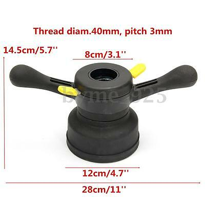 40mm 3mm Vehicle Wheel Balancer Quick Release Hub Wing Nut Tire Change Tool
