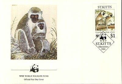 (70320) FDC - ST.Kitts - Singe - 1986