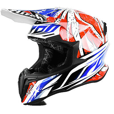 2017 Airoh Twist Leader Gloss Off Road Helmet Free Express Eu Delivery
