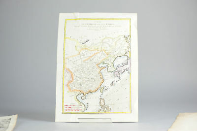Antique 1780 French Map of Chine and the Chinese Empire. Super rare