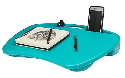 "Laptop Lap Desk Computer Table Bed Tray Notebook Cooling Pad 15"" Portable Stand"