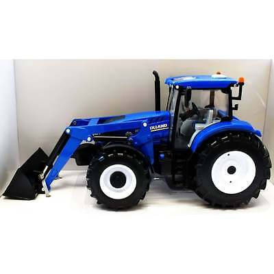 Britains 1:32 43148 New Holland T6.180 Tractor + Front Loader Diecast Farm Model
