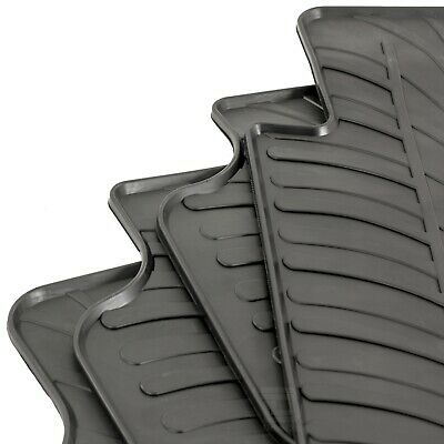 Volkswagen Golf Mk.6 2009 - 2013 Tailored Fit Rubber Moulded Car Floor Mats Set