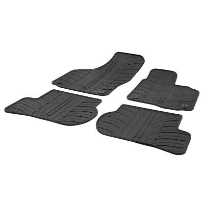 Skoda Octavia Mk.2 2004 - 2013 Tailored Fit Rubber Moulded Car Floor Mats Set
