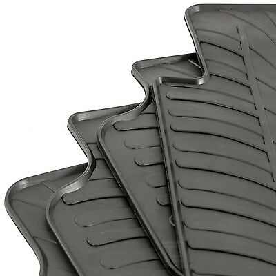 Nissan Qashqai (J11) 2014 - 2018 Tailored Fit Rubber Moulded Car Floor Mats Set
