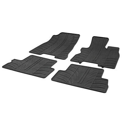Nissan X-Trail (T31) 2007 - 2013 Tailored Fit Rubber Moulded Car Floor Mats Set