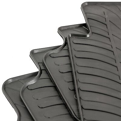 Mercedes M Class (W166) 2012 - 2015 Tailored Rubber Moulded Car Floor Mats Set