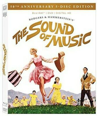 Sound Of Music: 50th Anniversary Ultimate Coll (2015, Blu-ray NEW)